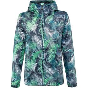 Meru Clyde Jacket Women Tropical Flower Word